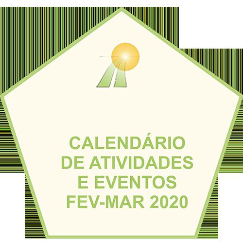 CALENDARIO DE ATIVIDADES 2020